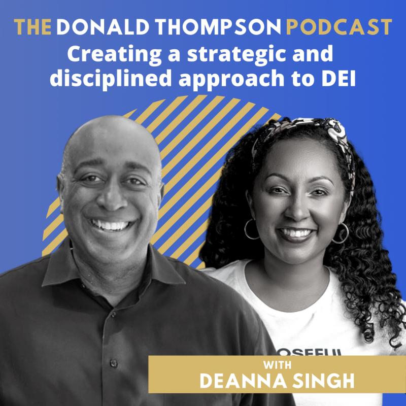 Deanna Singh Donald Thompson Podcast