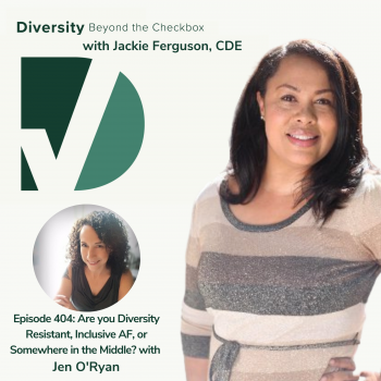 Diversity Beyond the Checkbox Podcast Jen O'Ryan Inclusive AF