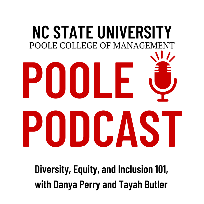 Poole Podcast DEI Danya Perry Tayah Butler