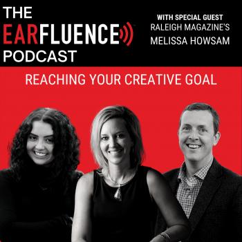 Melissa Howsam Raleigh Magazine Earfluence Podcast