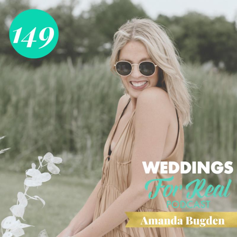 Amanda Bugden Weddings for Real Podcast