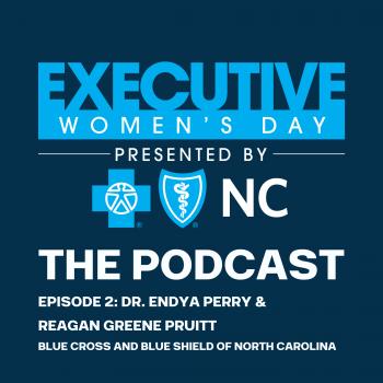 Blue Cross Executive Women's Day Dr Endya Perry Reagan Greene Pruitt