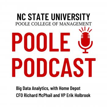 Home Depot CFO Richard McPhail NC State Poole Podcast